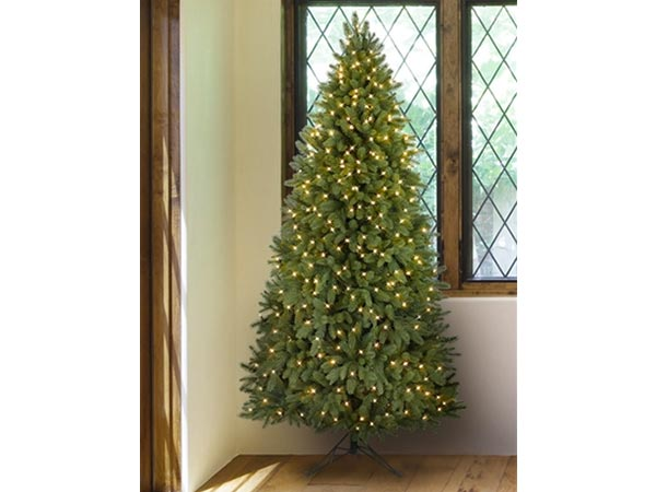 Best To Save Space: Balsam Hill Park Avenue Corner 7u0027 Artificial Christmas  Tree