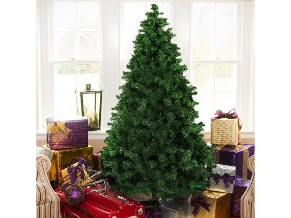 Best Choice Products 6' Premium Hinged Artificial Christmas Pine Tree