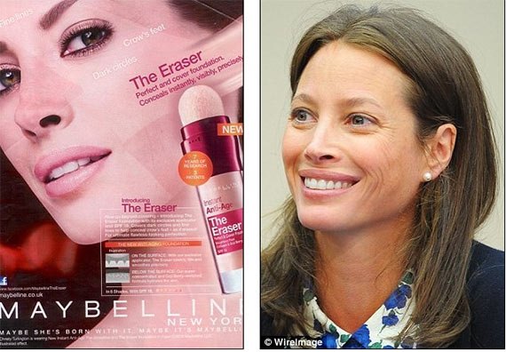 Christy Turlington's Maybelline Ad