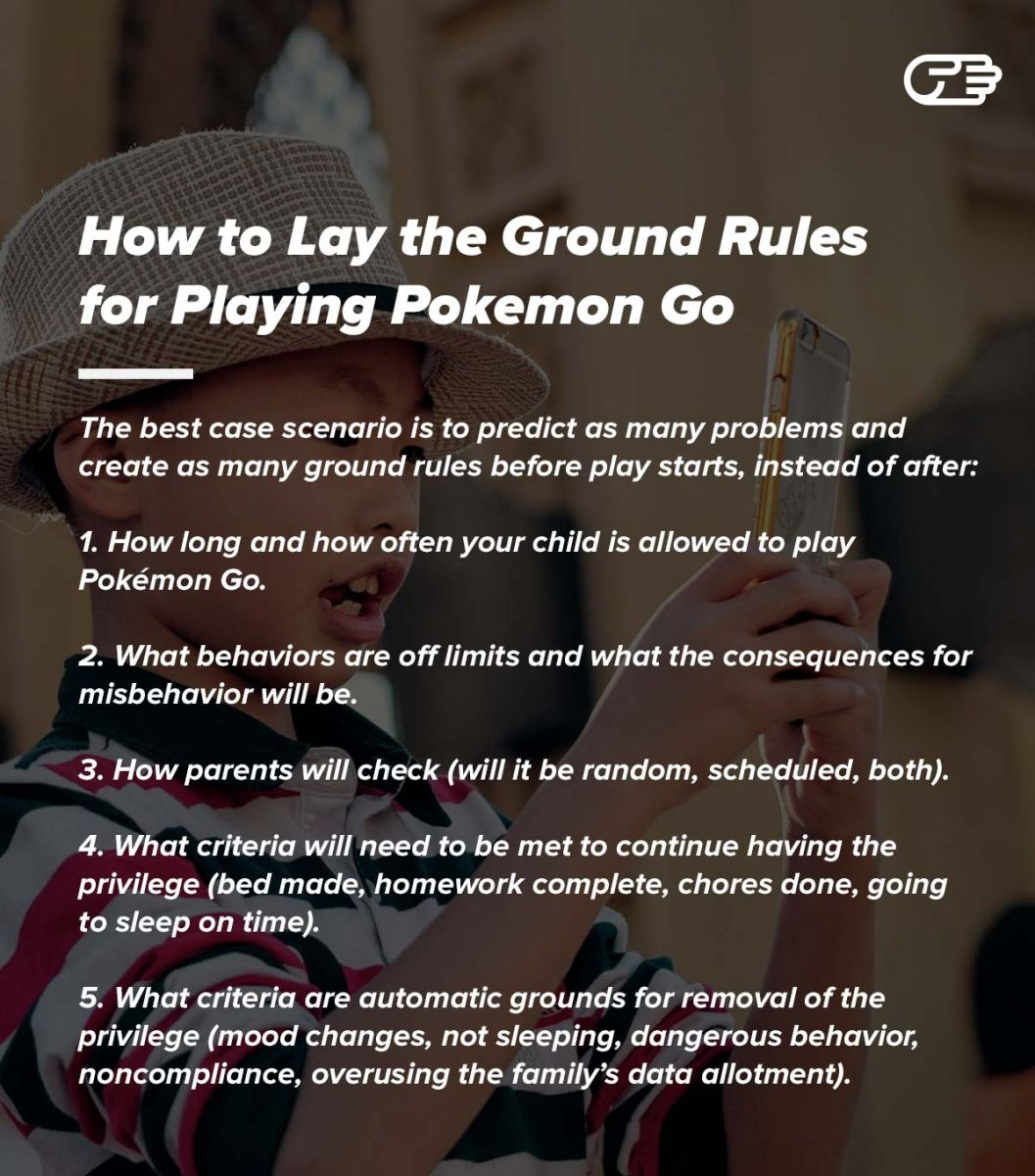 How to Lay the Ground Rules for Playing Pokemon Go