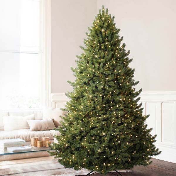 balsam hill vermont white spruce premium prelit artificial christmas tree