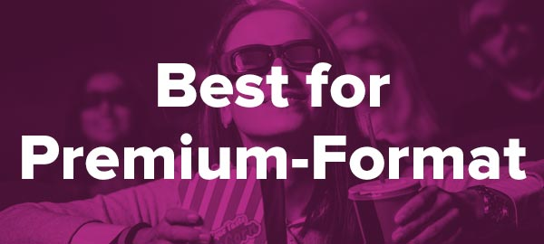 Best Movie Ticket Subscription for Premium-Format Movies