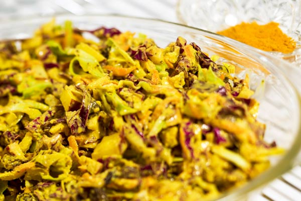 Pam Braun's Indian Spiced Cole Slaw