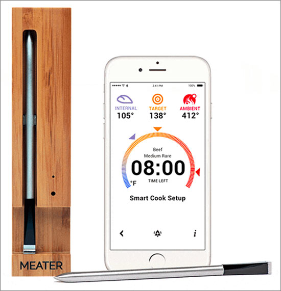 Meater Probe Charger App System