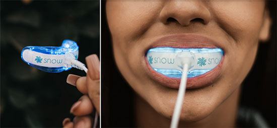 Snow Whitening LED Mouth Tray