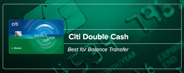 Citi Double Cash - Best for balance transfer