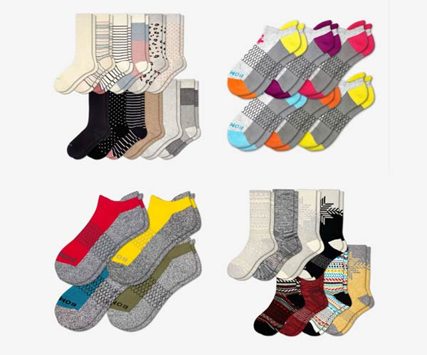 Bombas Women's and Men's Socks