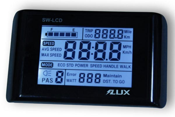 Flx Electric Bike LCD Display