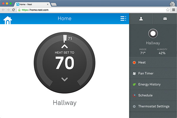 Control Nest Remotely