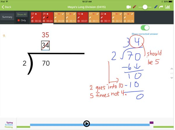 Thinkster Math App Worksheet