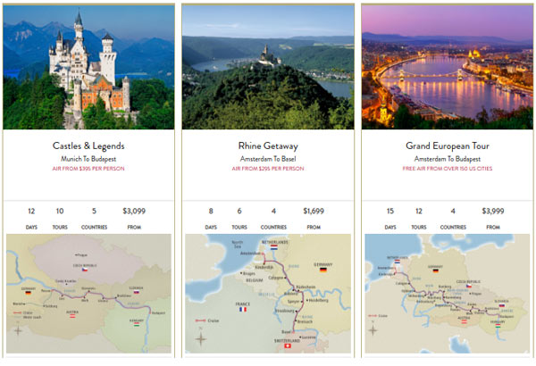 Comparing Viking River Cruises