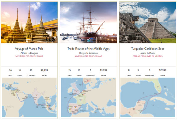 Comparing Viking Ocean Cruises