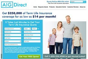 Aig Term Life Insurance Quotes Captivating Aig Direct Life Insurance Reviews  Is It A Scam Or Legit