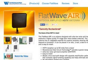 Winegard Flatwave AIR Outdoor HDTV Antenna