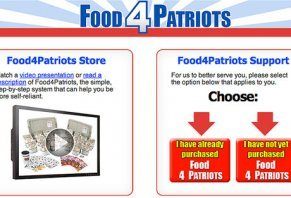 patriots food survival kits scam packaged sells containing pre dehydrated quality legit highya