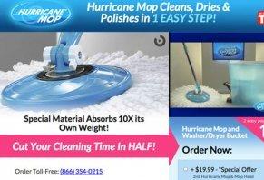 Hurricane 360 Spin Mop