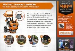 Generac OneWASH