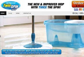 Hurricane Twin Spin Mop