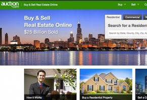 onine real estate auction