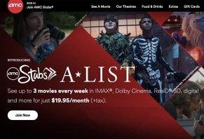 AMC Stubs A-List Reviews - Best Movie Theater Subscription?
