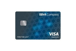 BBVA Compass Visa Signature Card