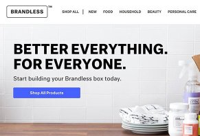 Get All Your Ping Done For Less Than 3 An Item At Brandless E Commerce Company That Ships You Groceries And Promises To Save Money On The