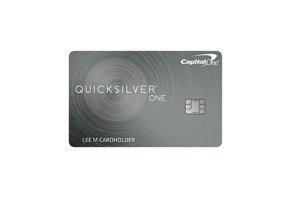 Image result for QuicksilverOne® from Capital One®