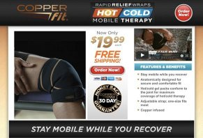 Copper Fit Rapid Release Wraps