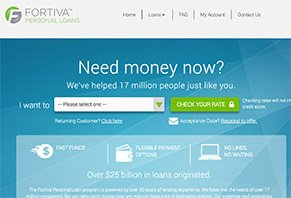 Fortiva Personal Loans