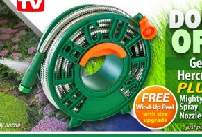The Hercules Hose Is A Steel Garden Hose That Features A No Leak Connector,  As Well As A Solid Steel Construction That The Manufacturer Claims Will  Never ...