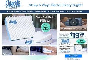 Contour Legacy Leg Pillow
