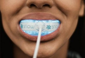 Serial Number Snow Teeth Whitening  Kit