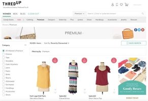 cfbc03947 ThredUP is an online consignment website that lets you buy and sell gently  used clothes and accessories that the company carefully inspects for  quality ...