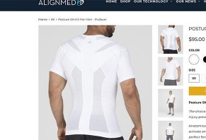 AlignMed Posture Shirt