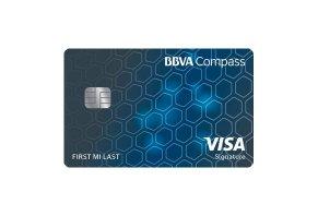 BBVA Compass Visa Signature Card