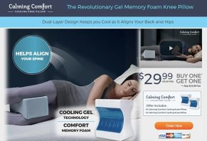 Calming Comfort Knee Pillow