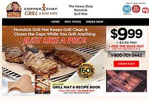 Copper Chef Grill Mat
