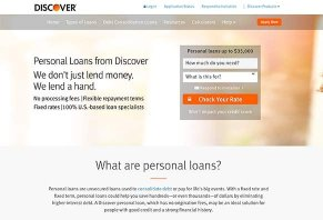 Discover Personal Loans Reviews