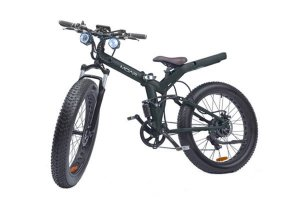 MOAR Fat Tire Folding Electric Bike