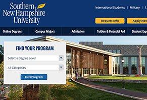 Snhu Online Degrees >> University Online Southern New Hampshire University Online