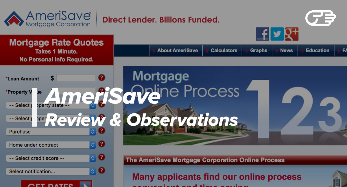 AmeriSave Mortgage Corporation Reviews - Is It the Right Lender for You?