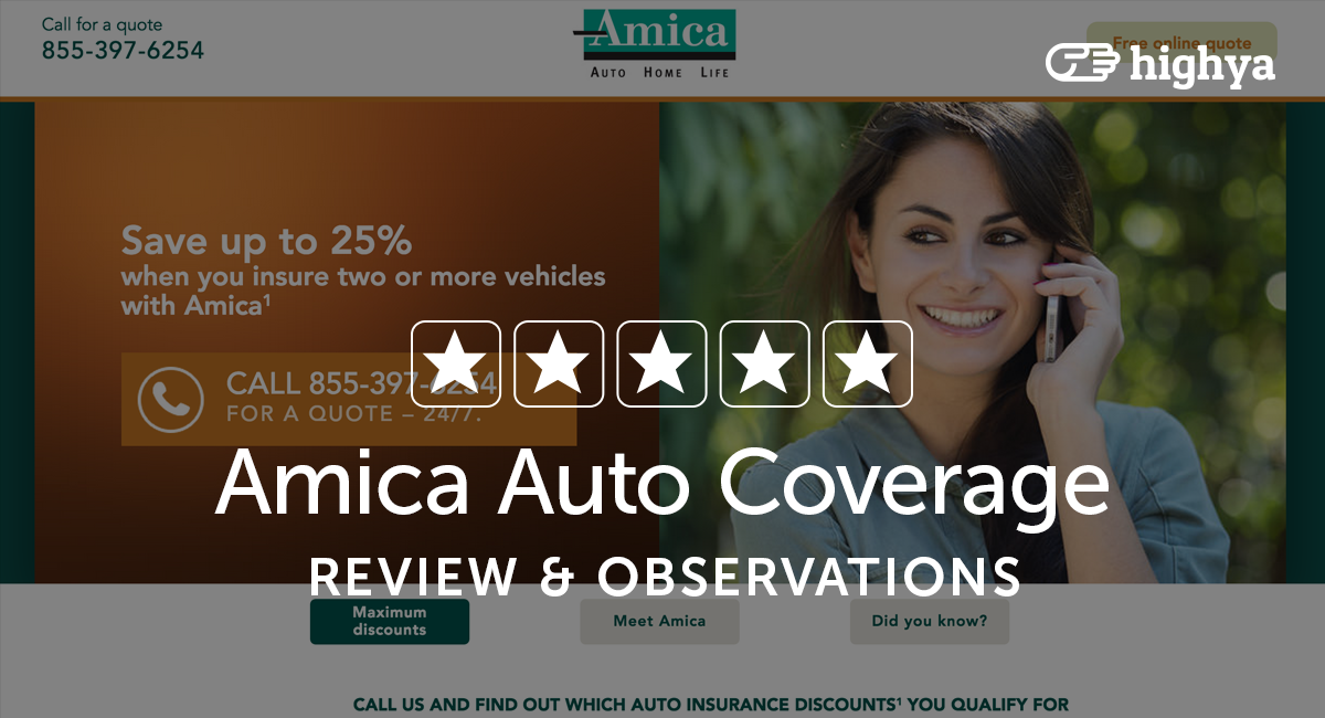 Amica Insurance Quote Delectable Amica Auto Insurance Reviews  Is It A Scam Or Legit