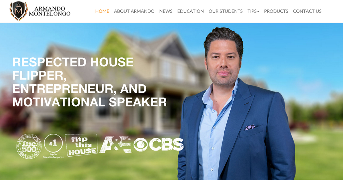 Armando Montelongo Flip and Grow Rich Master Home Study ...