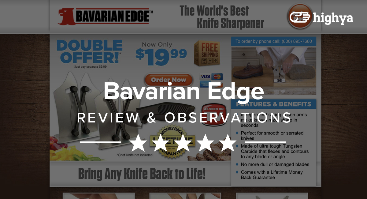 bavarian edge reviews is it a scam or legit. Black Bedroom Furniture Sets. Home Design Ideas
