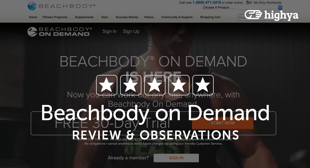 Beachbody On Demand Reviews - Is it a Scam or Legit?