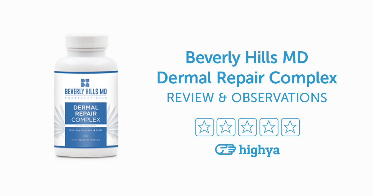 Beverly Hills MD Dermal Repair Complex Reviews - Is it a ...