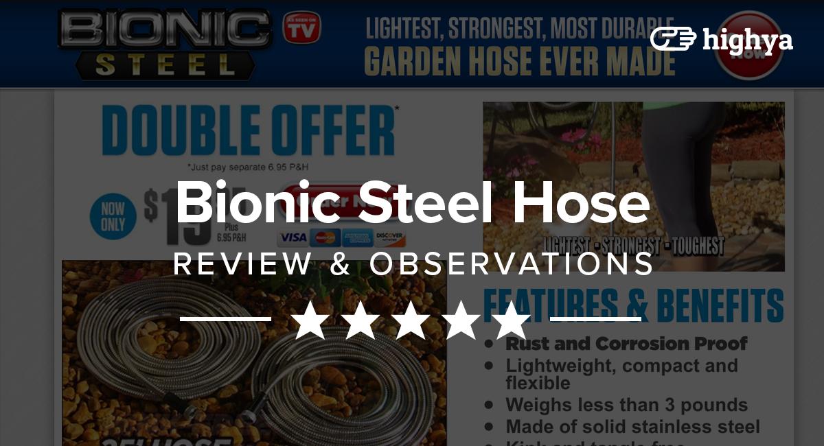 Bionic Steel Hose Reviews Is It A Scam Or Legit