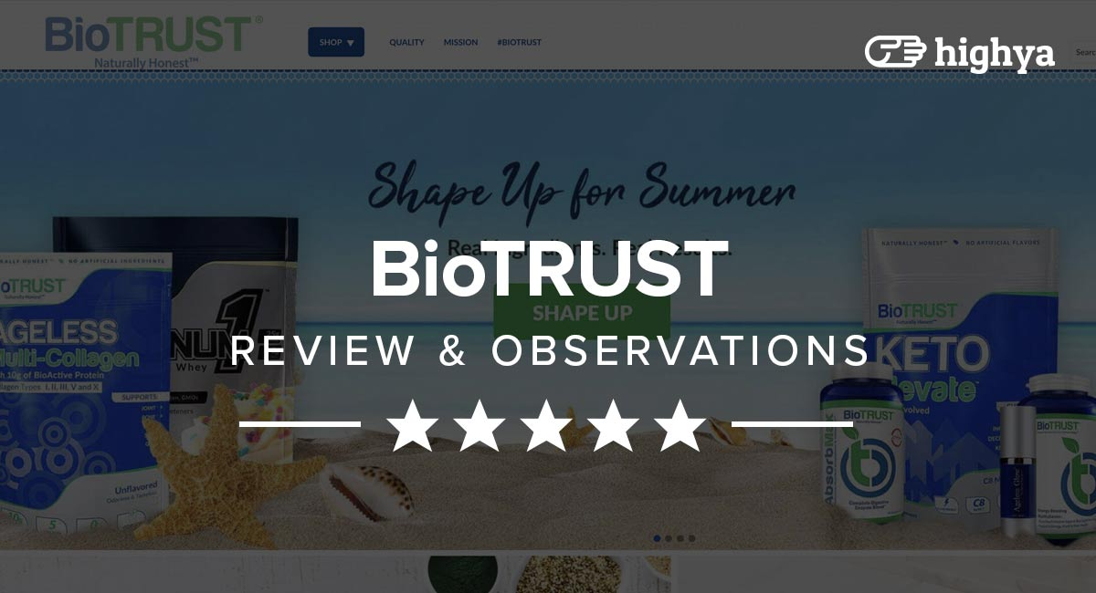 BioTrust Reviews - Do These Supplements Really Work?
