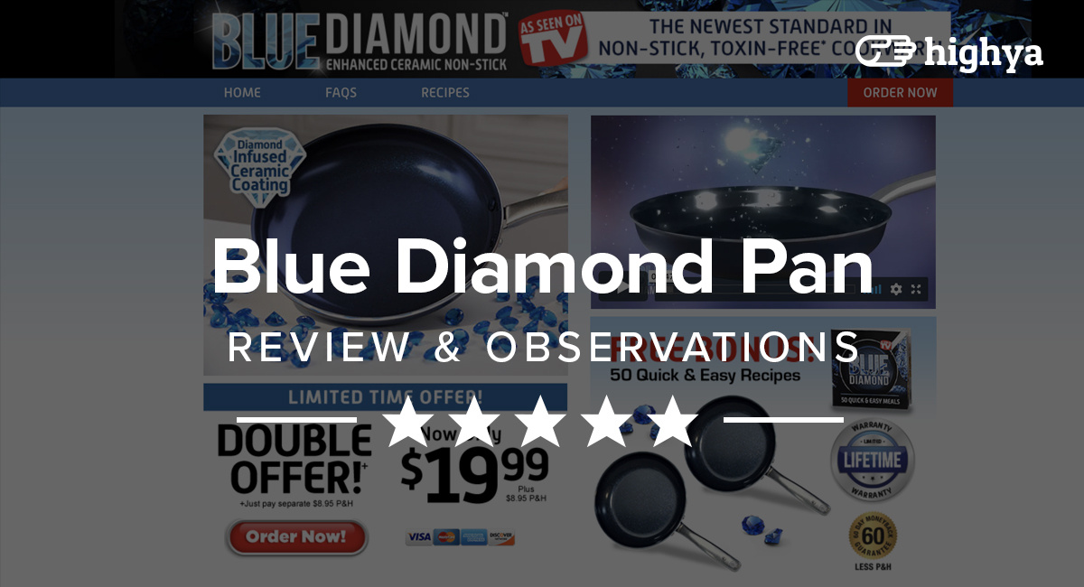 Blue Diamond Pan Reviews Is It A Scam Or Legit