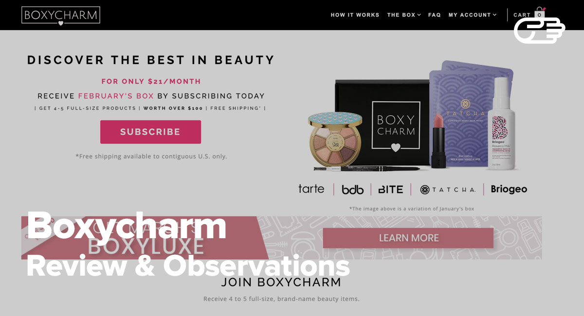 Boxycharm Reviews: Right Beauty Box Subscription for You?